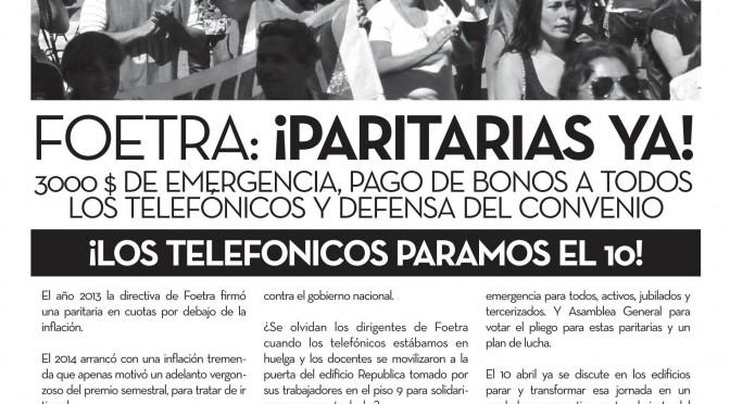 Boletín Naranja Telefónicos  N° 35 – Marzo/Abril de 2014