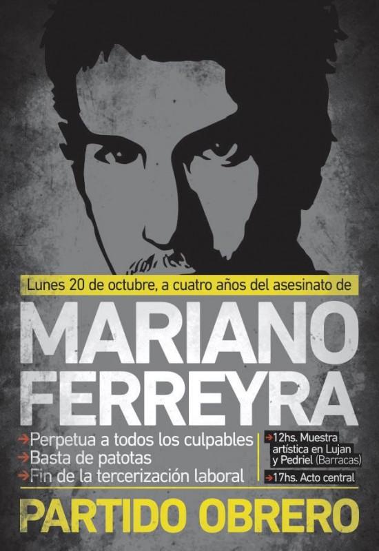 Mariano Ferreyra 4 años