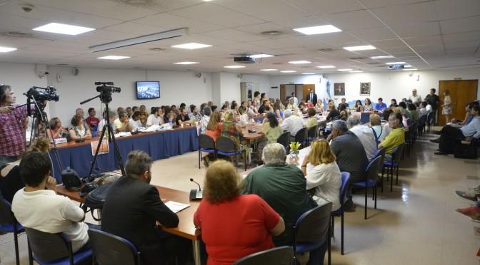 Extraordinaria Audiencia de Telefonicos en el Congreso:  AVANZA El PROYECTO PARA EL PAGO DE LOS BONOS