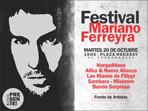 A 5 años del crimen de Mariano Ferreyra: seguimos luchando por el castigo a los responsables y contra la tercerización laboral