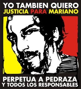 NO A LA PRISION DOMICILIARIA DE PEDRAZA. EXIGIMOS CARCEL COMÚN!!