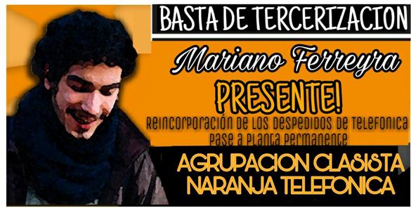 Mariano Ferreyra, a 6 años de su asesinato.  Este domingo Festival en Parque Las Heras
