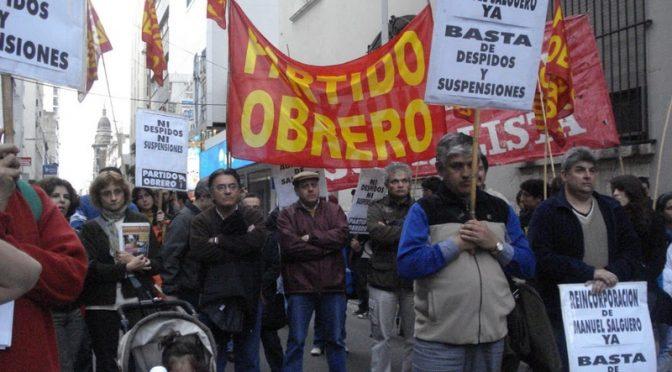 CÓRDOBA, UN ENORME TRIUNFO SOBRE LA PATRONAL Y LA BUROCRACIA SINDICAL:  Que Telecom reincorpore inmediatamente a Manuel Salguero