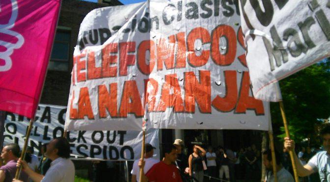 AGR Clarín – Toma de la planta en defensa de los puestos de trabajo. Que FOETRA se pronuncie. Edificio donde hay despidos edificio que se ocupa