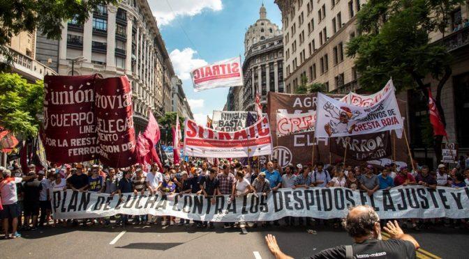 #7M Los sindicatos combativos vamos con una columna independiente