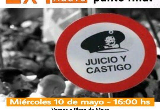 """""""Abajo el 2×1 de impunidad a los genocidas"""""""