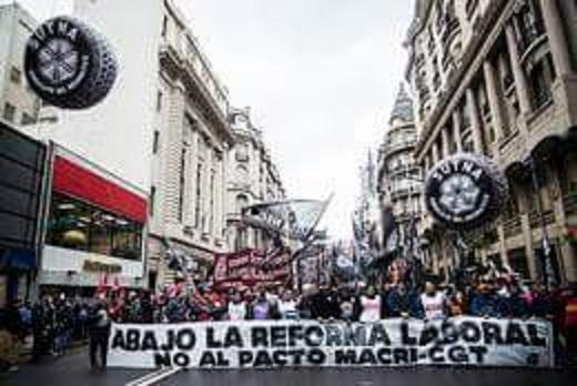 Al Plenario de Delegados de Foetra: Proponemos parar y movilizar contra la reforma laboral