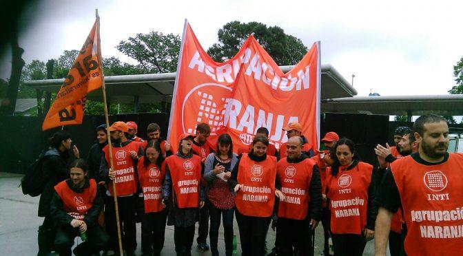 La Naranja Telefonica se solidariza con el plan de lucha del INTI en defensa de sus puestos de trabajo y por la reincorporación inmediata de los cesanteados