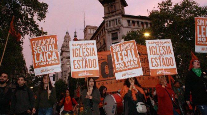 8 de marzo: Impulsemos el Paro y la movilización del gremio telefónico Por el derecho al aborto legal, seguro y gratuito