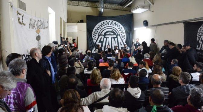 El sindicalismo combativo votó realizar un gran encuentro obrero nacional