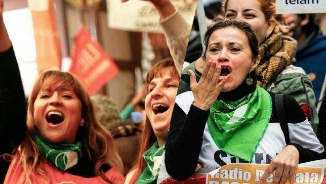 Hoy, Pañuelazo frente a la CGT Por el aborto legal
