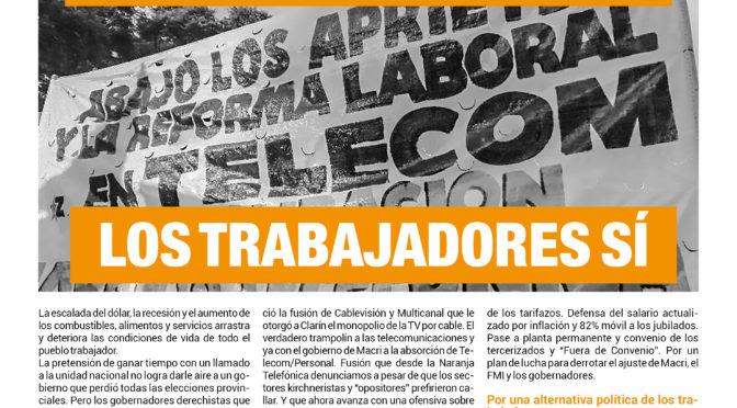 Boletín Naranja Telefonicos nº57 – Mayo 2019 – Las empresas no estan en crisis, los trabajadores si